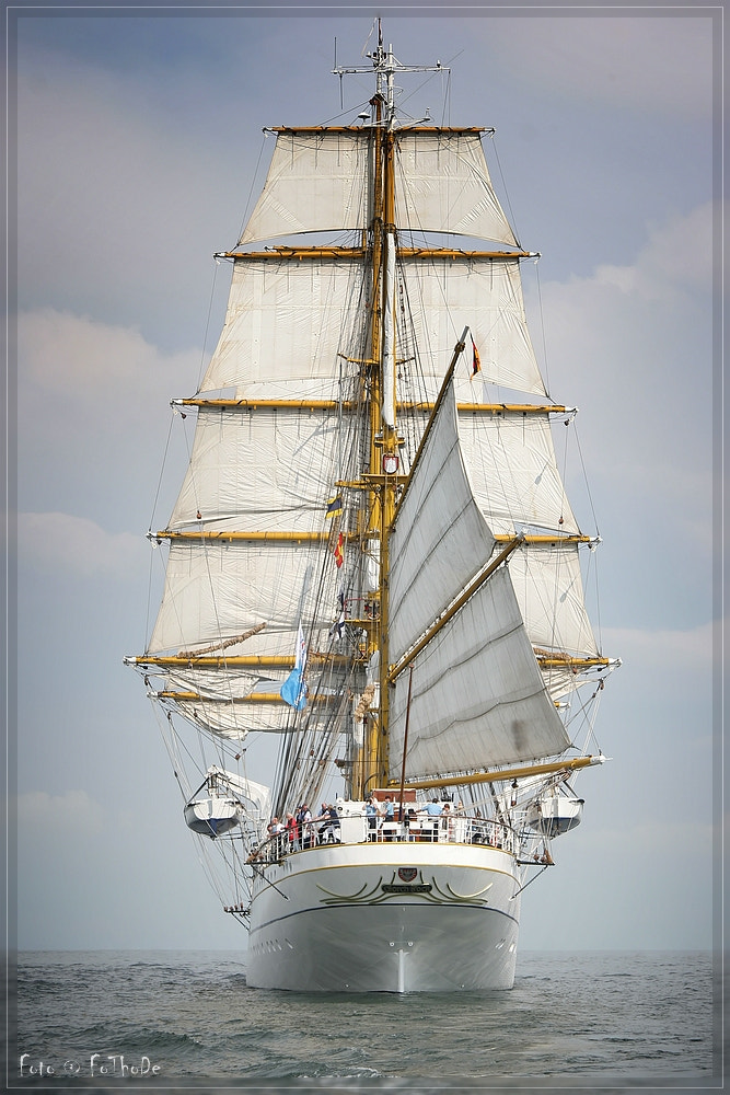 Photograph Gorch Fock by Thomas Deter on 500px