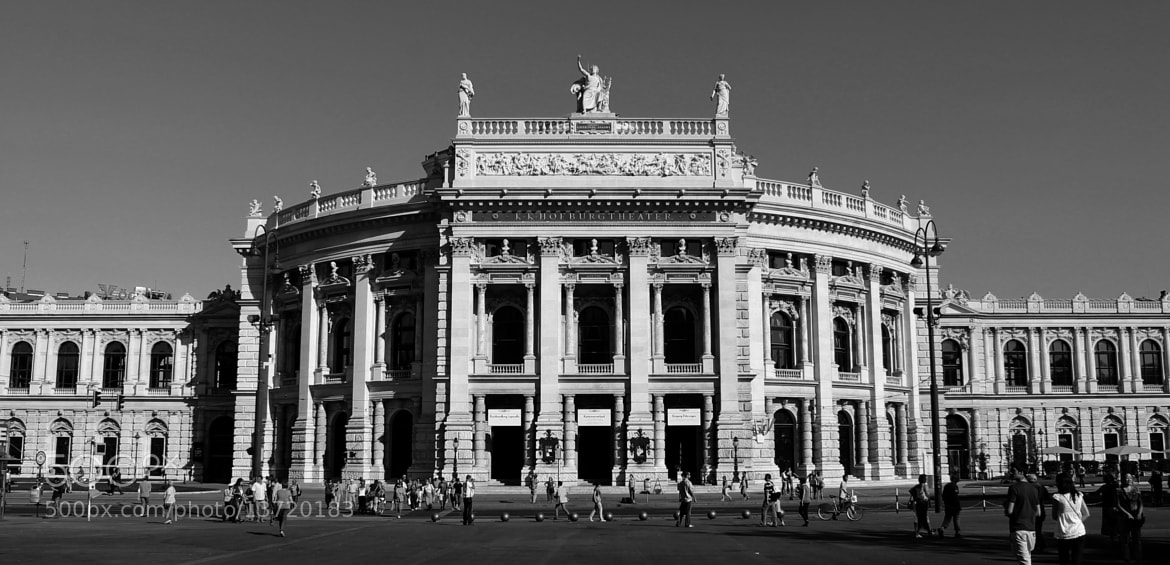 Photograph Hofburg Theater by Hayk Gabriel Photography on 500px