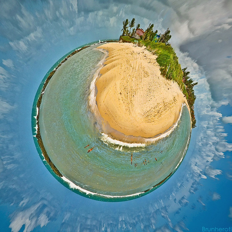Photograph My first 'little planet' by Rafael Brunheroti on 500px