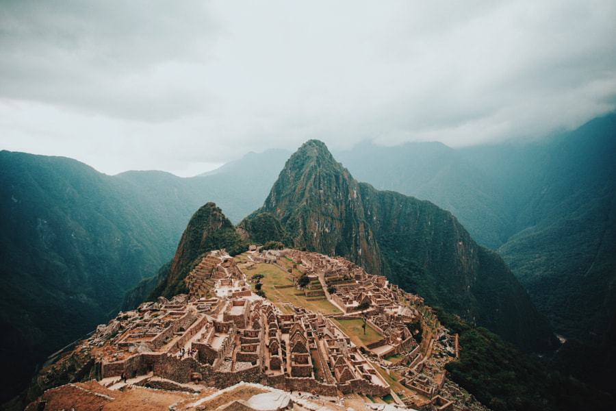 Machu Picchu, in all of its glory. by Berty Mandagie on 500px.com
