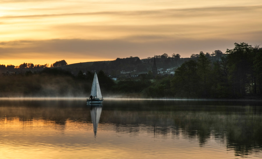 Yacht on Derwentwater