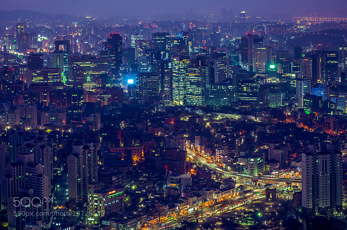 Photograph Awakening of the City - Seoul in Dawn by Jonas Ginter on 500px