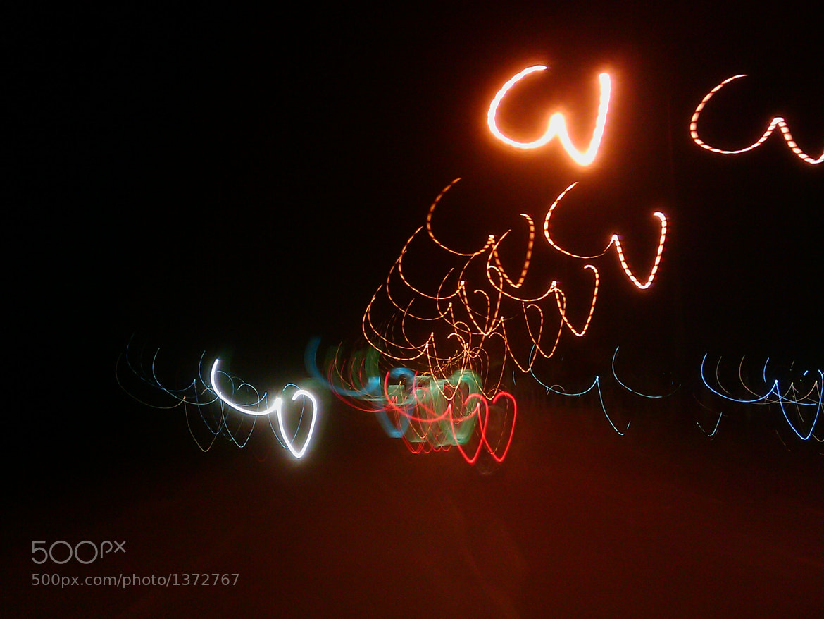 Photograph random lights at street(accidental click :) ) by Abhinav Singh on 500px