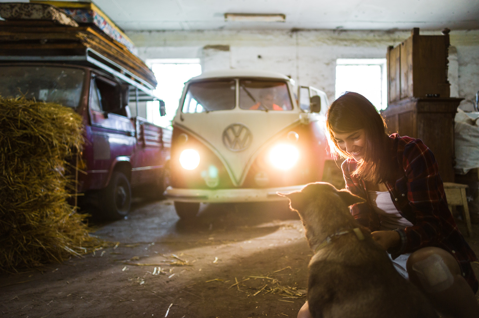 Photograph Barn find – Volkswagen T1 by Peter Lueck on 500px