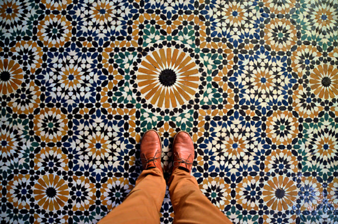 Tile Mosaic Floor, Marrakesh, Morocco by Heather Balmain on 500px