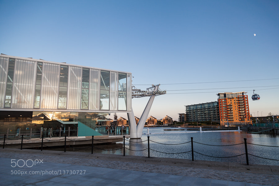 Photograph Emirates Air Line Station by Mike Li on 500px