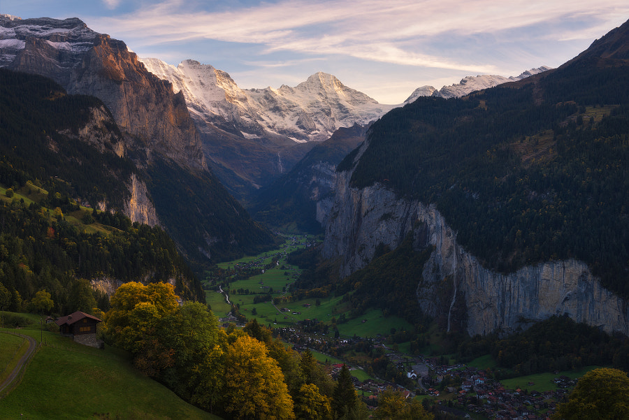 Valley in the Alps by Marcelo Castro on 500px.com