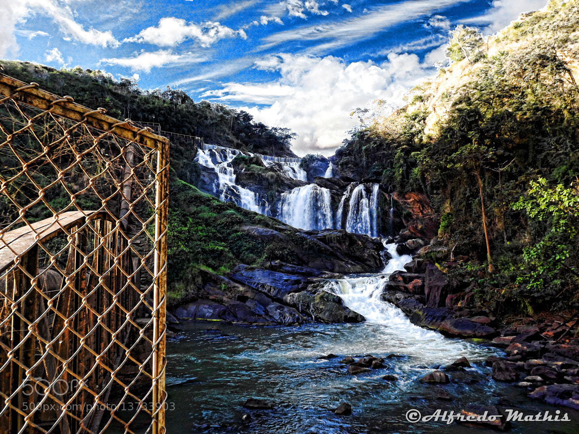 Photograph Cachoeira de Tombos-MG by Alfredo Mathis on 500px