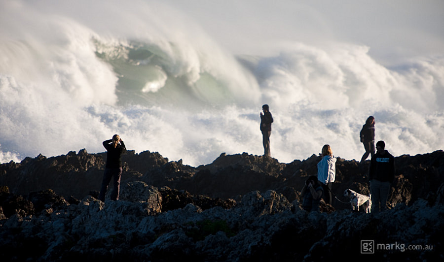 Photograph Wave Spectators by Mark Gee on 500px