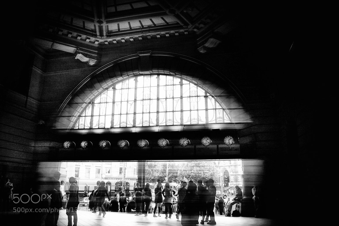 Photograph Meet you under the clocks by John Raptis on 500px