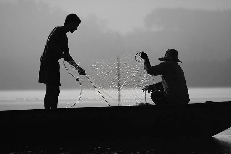 Photograph fisherman by Tasan Phatthong on 500px