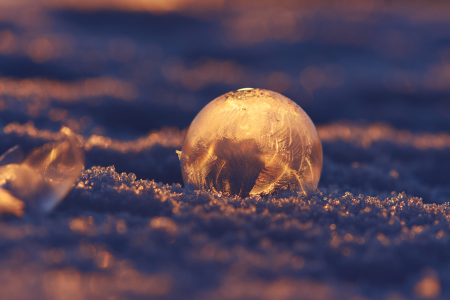 Frozen soap bubbles by Lavrsen on 500px