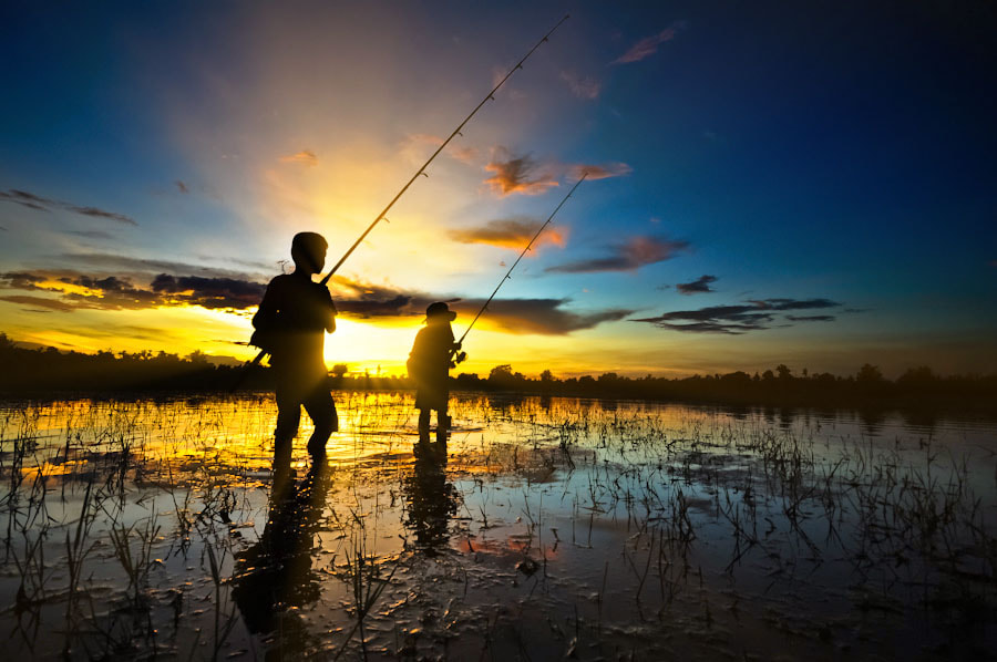 Photograph Young Fishing by Chanwit Whanset on 500px