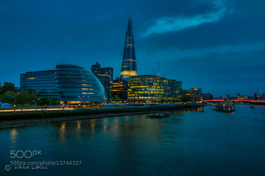 Photograph City Hall At Blue Hour by PHOTONPHOTOGRAPHY  - Viktor Lakics on 500px