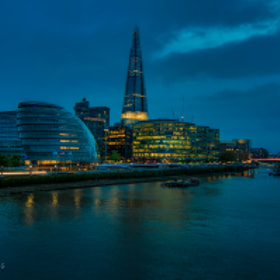 City Hall At Blue Hour by PHOTONPHOTOGRAPHY  - Viktor Lakics (PhotonPhotography)) on 500px.com