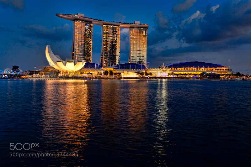 Photograph Marina Bay Sands by Michel Latendresse on 500px