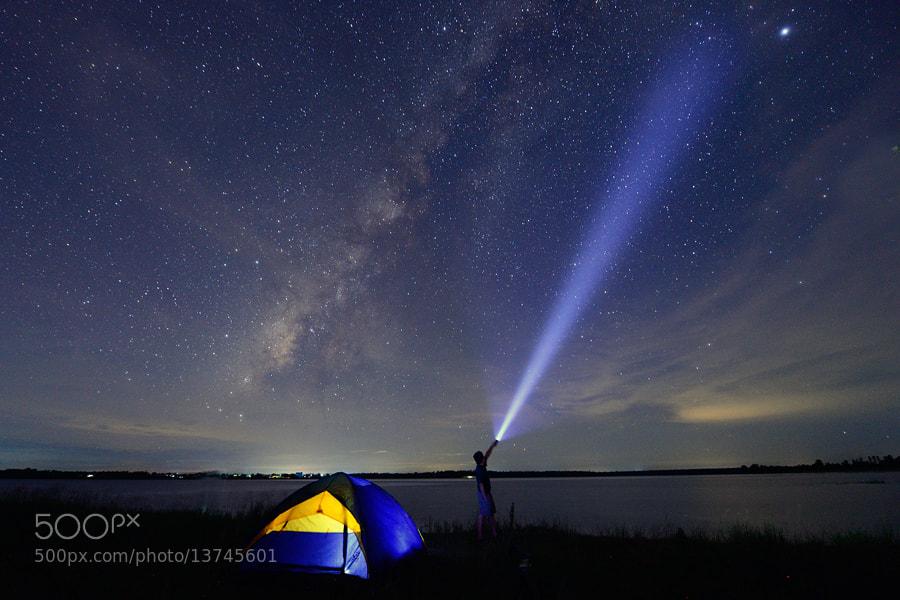 Photograph Milky Way by Surachai Chartsuwan on 500px
