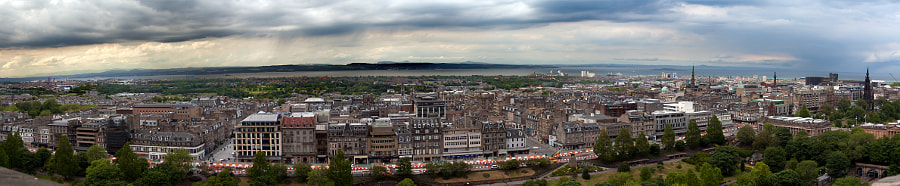Edinburgh from Edinburgh Castle