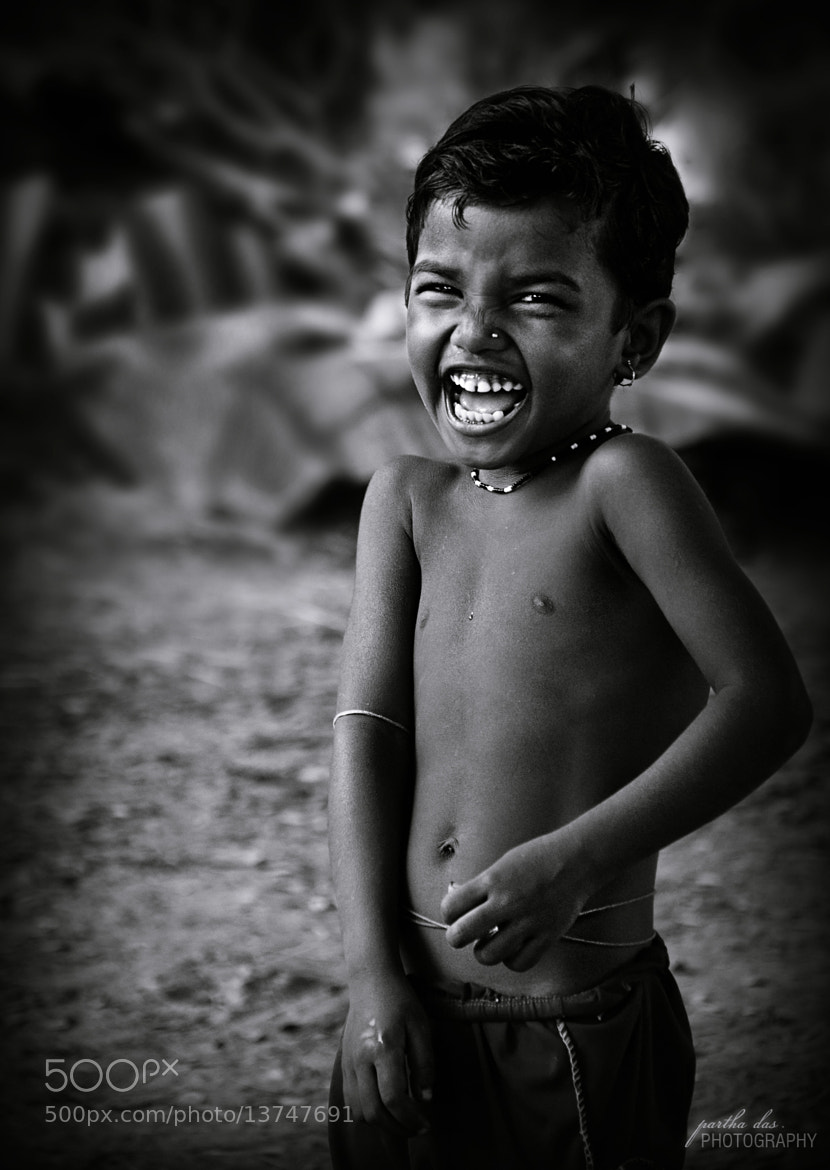 Photograph amazing smile! by Partha Das on 500px