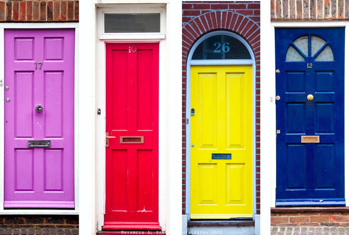 Photograph Colored Doors by Mayameen AlHamoud on 500px