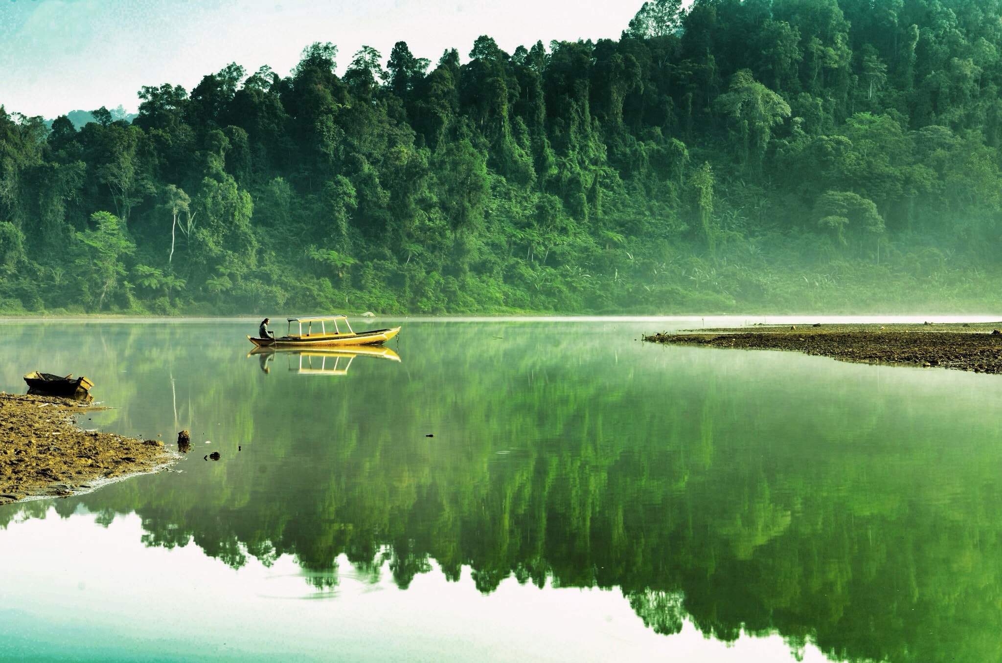 Photograph My Green Reflection by Andri L. P. on 500px
