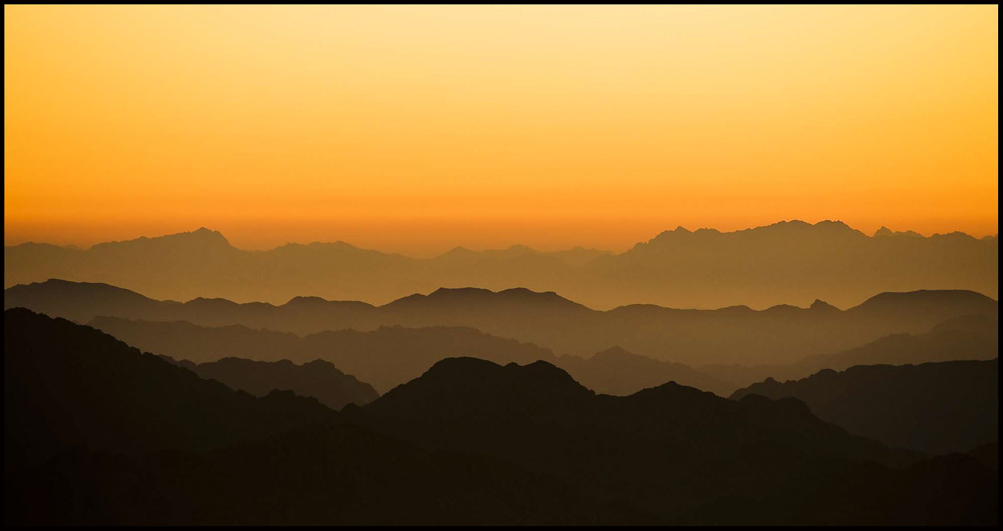 Photograph Sinai Sunrise by Anthony W. S. Soo on 500px