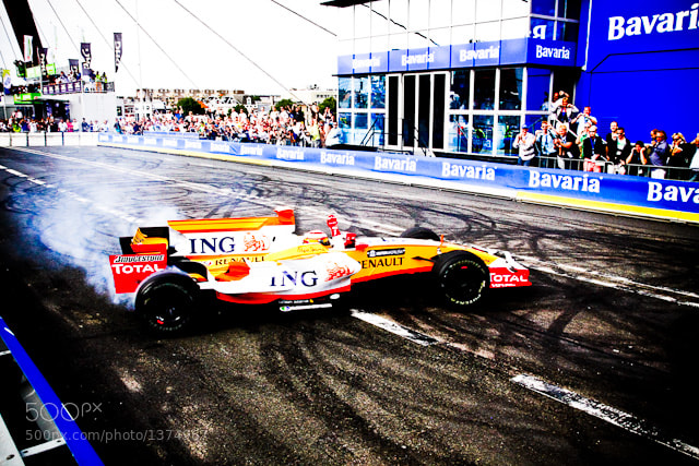 Photograph Fernando Alonso by Dennis Ekelschot on 500px