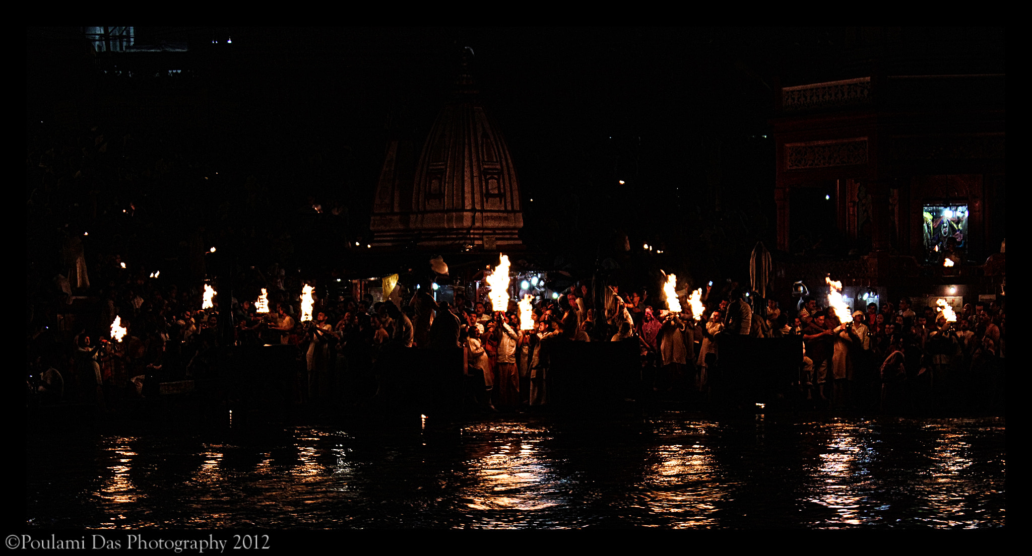 Photograph Maha aarti by Poulami  Das on 500px