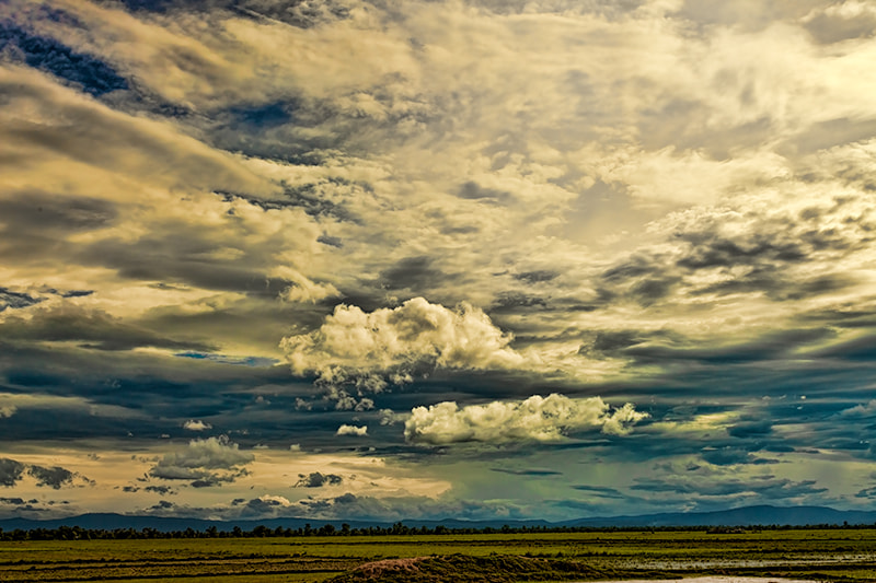 Photograph Battambang Sky by Michel Latendresse on 500px