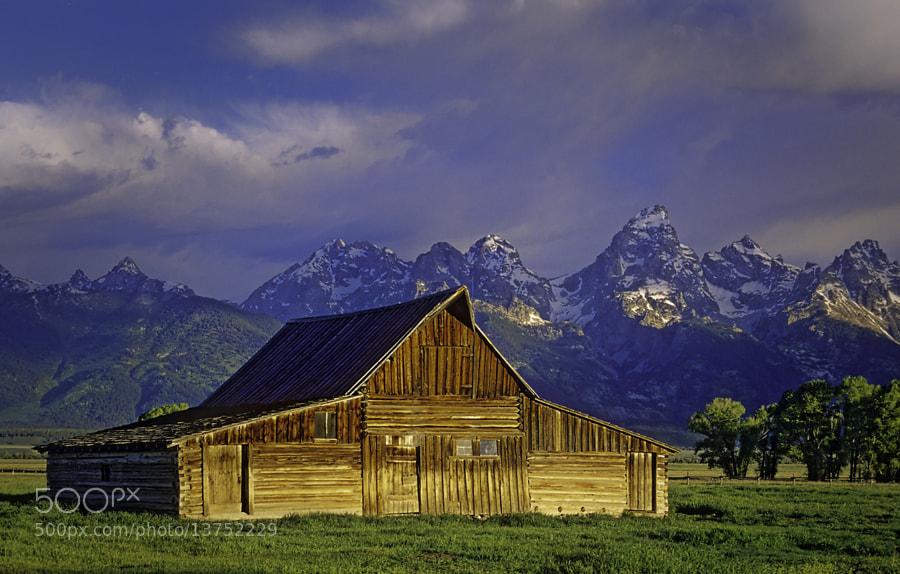 Taken in Grand Teton National Park using Velvia film