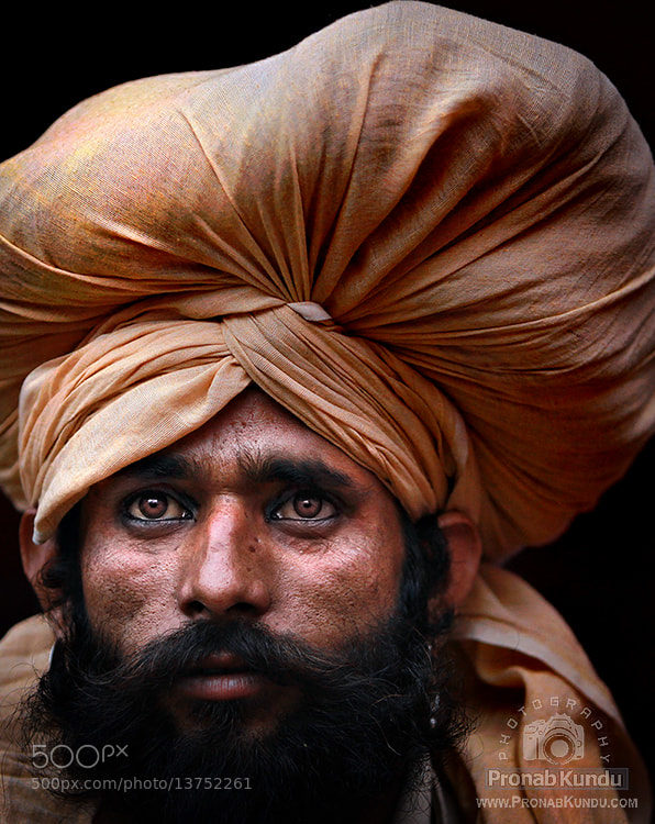 Photograph ~ A Storytelling Face IV ~ by PRONAB KUNDU on 500px
