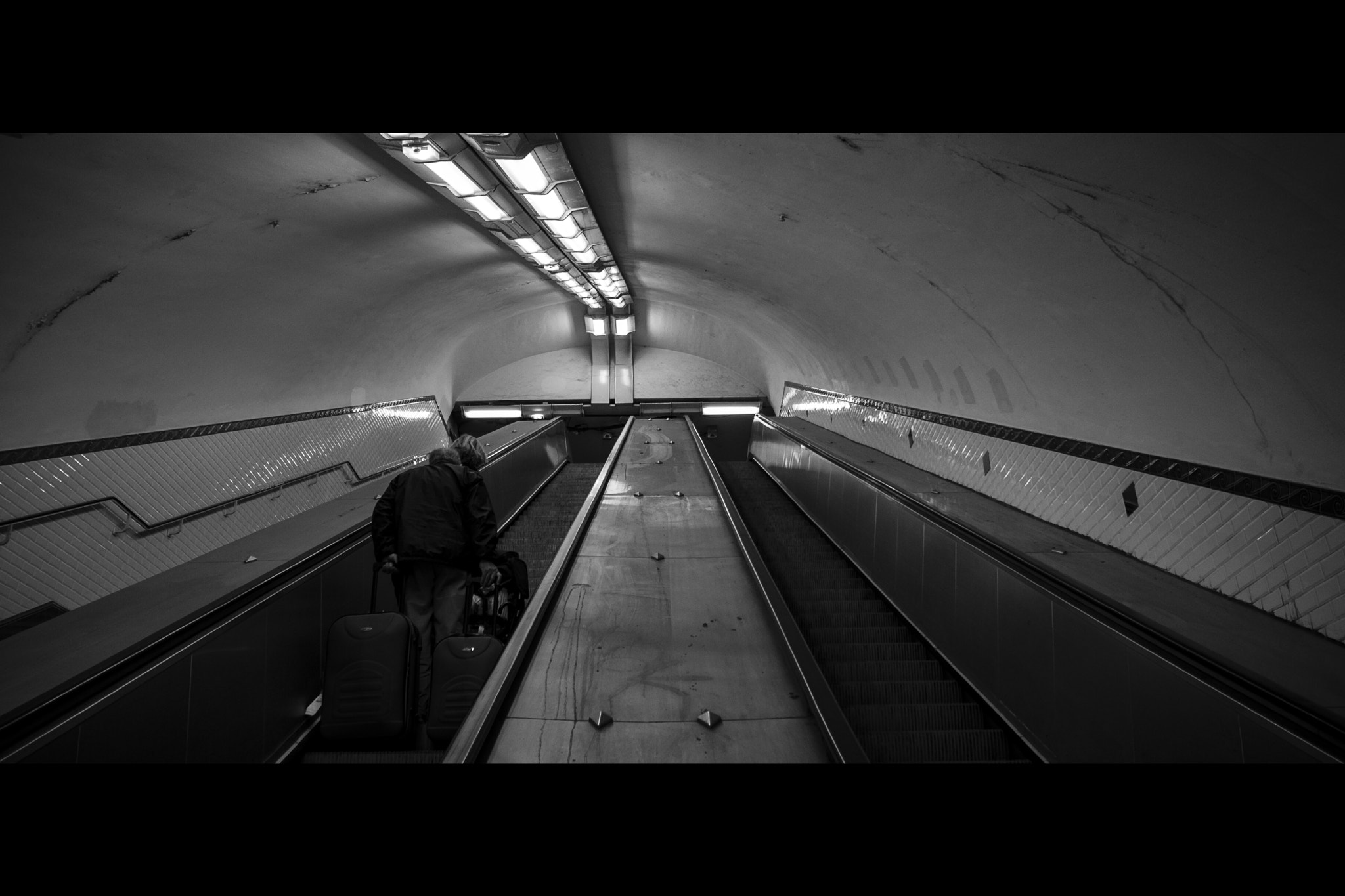 Photograph Dirty escalator by Matthieu Lepoint on 500px