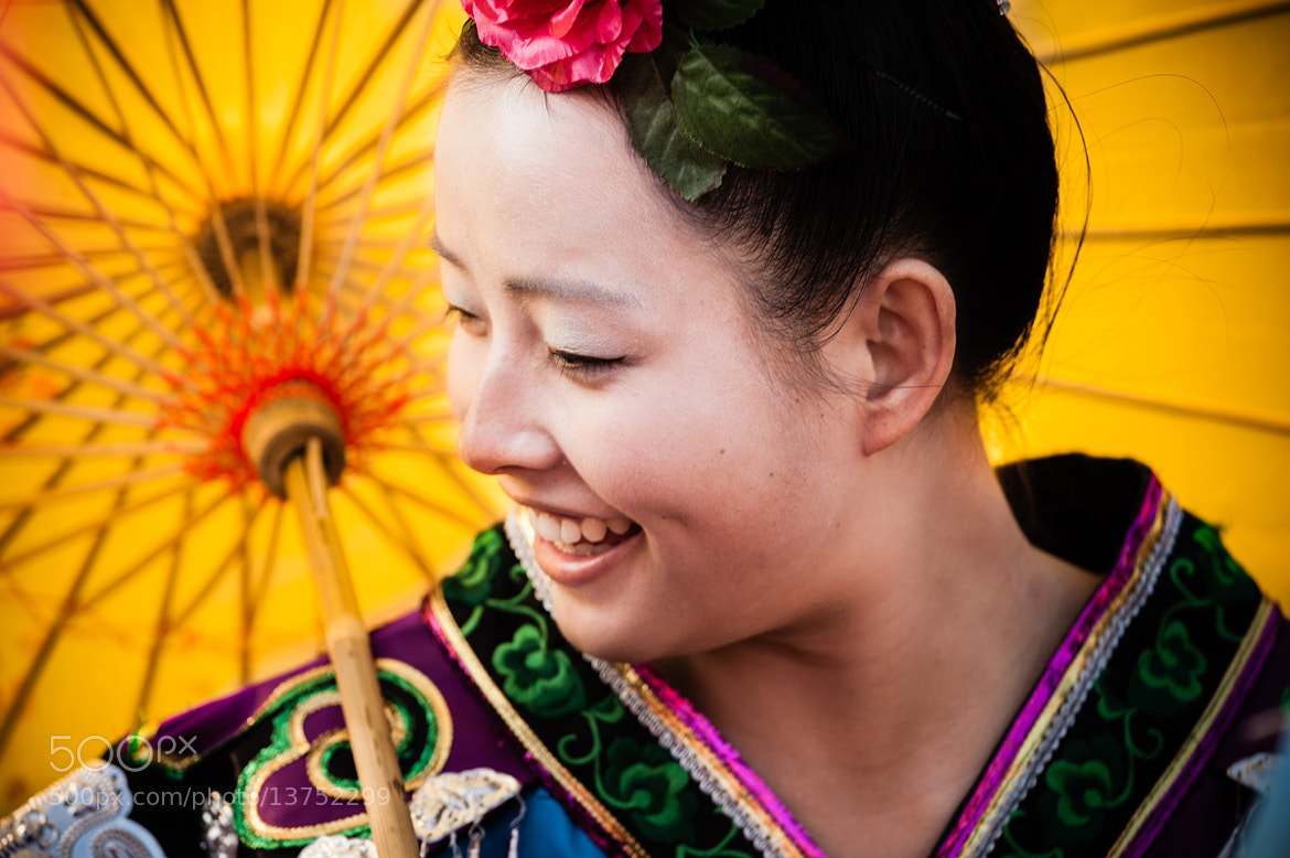 Photograph Chinese smile by Philippe CAP on 500px