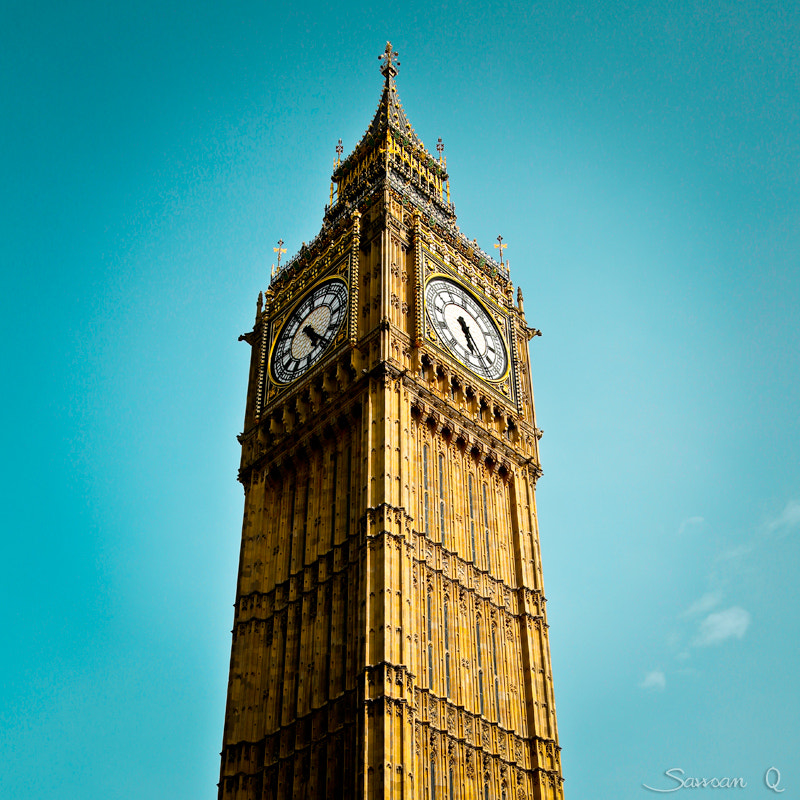 Photograph What's the time in London ..? by Sawsan Mohammed on 500px