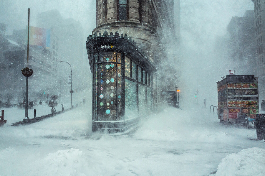 Jonas - Blizzard Snow Storm in NYC by Michele Palazzo on 500px.com