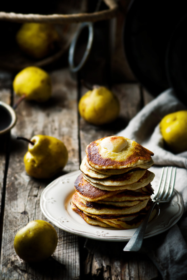 pancakes with pears by ?????? ??????? on 500px.com