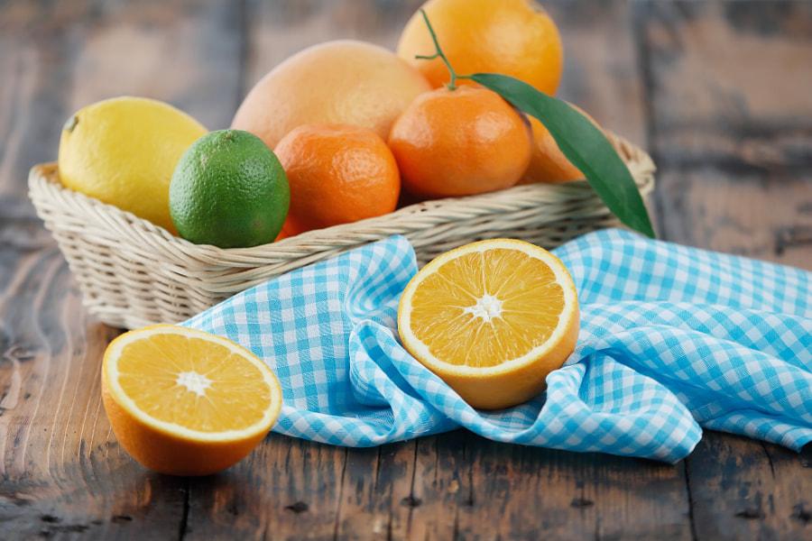 Citrus basket by Emilia Ungur on 500px.com