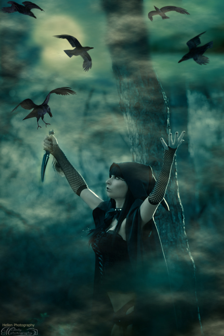 Photograph Mistress of the Dark by Hellen Photographer on 500px