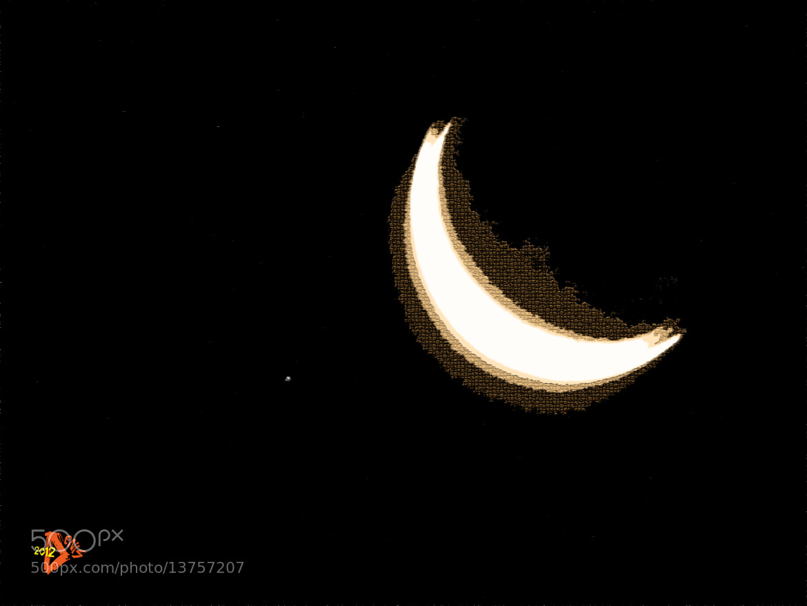 Photograph moon by Denis Stancsuy on 500px