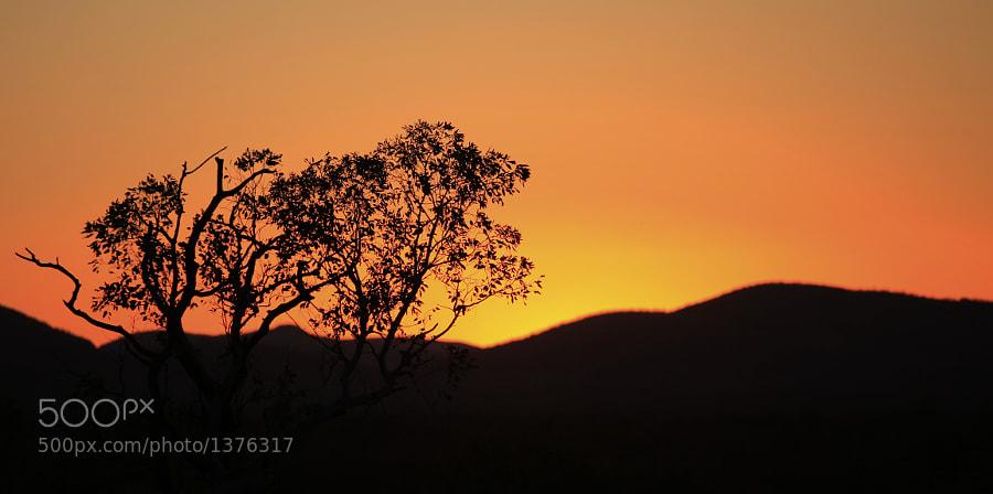 Sunset at Karijini National Park, Western Australia