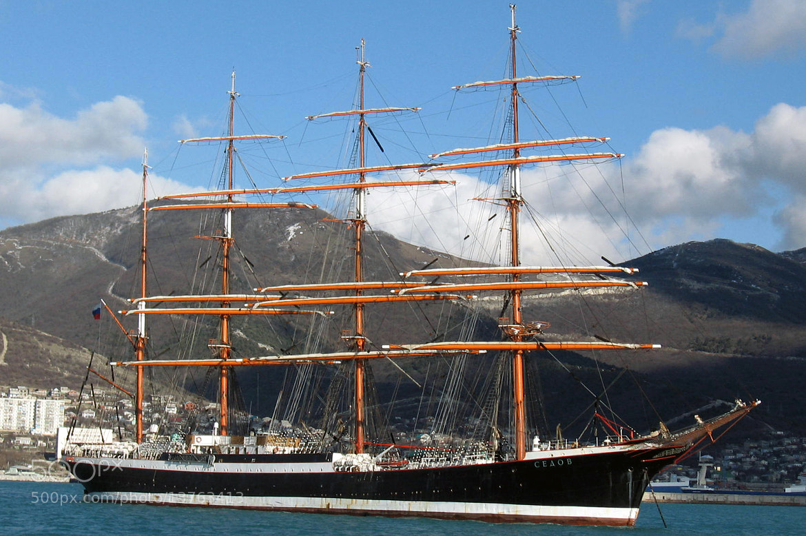 """Photograph Windjammer """"Sedov"""" by Longland  River on 500px"""