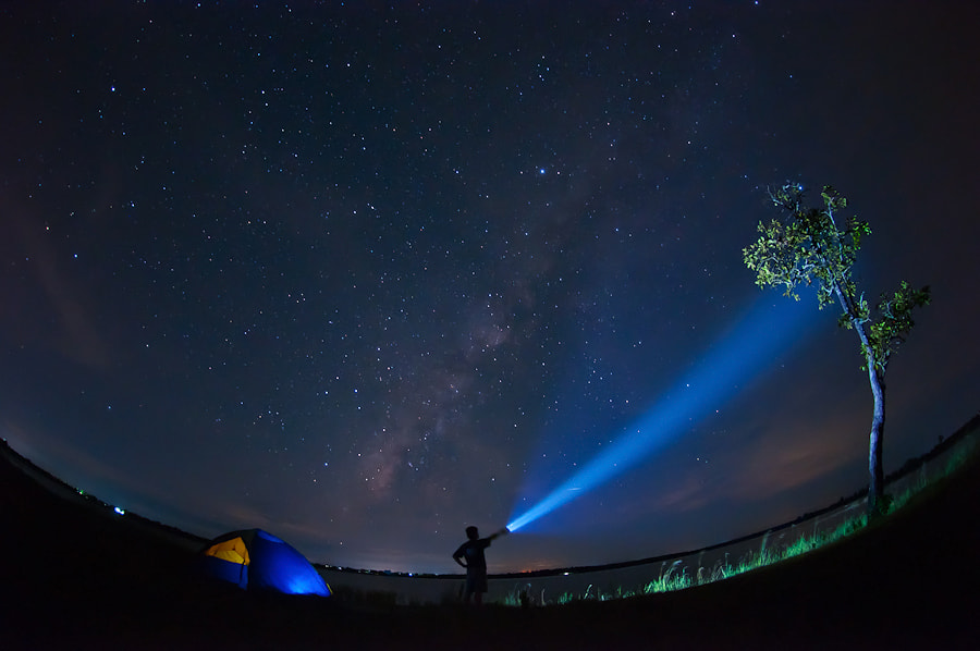 Photograph Milky Way  by Chanwit Whanset on 500px