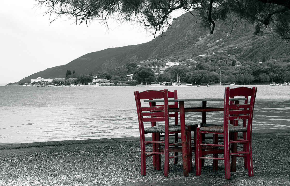 Photograph Red chairs by Andreas Georgopoulos on 500px