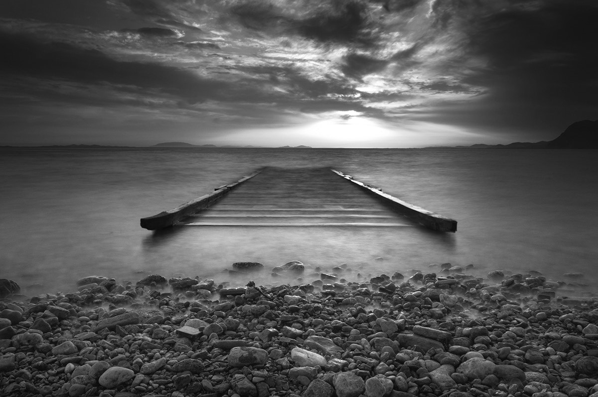Photograph Marina, Patra b/w by Andreas Georgopoulos on 500px