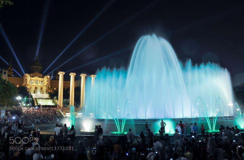 Photograph Magic Fountain Barcelona by Arben Murati on 500px