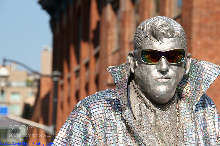 Photograph Candid Silver Elvis by David Shum on 500px