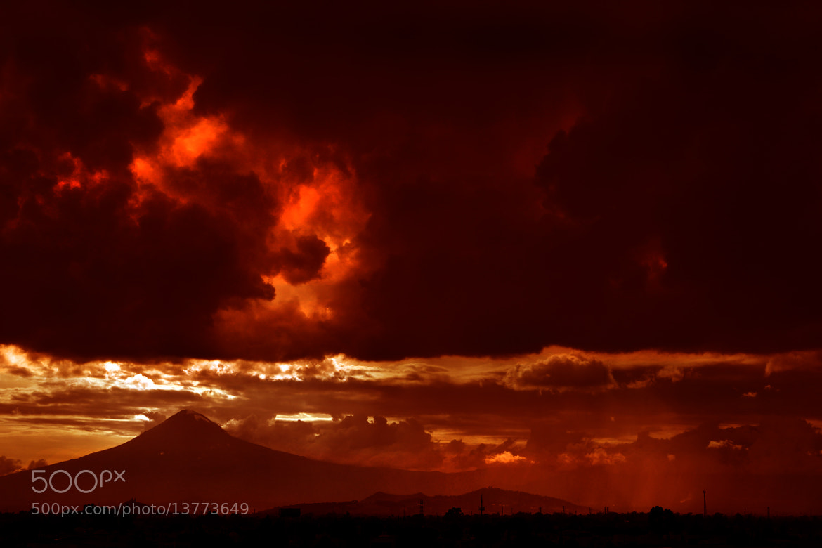 Photograph Volcano and Storm by Cristobal Garciaferro Rubio on 500px