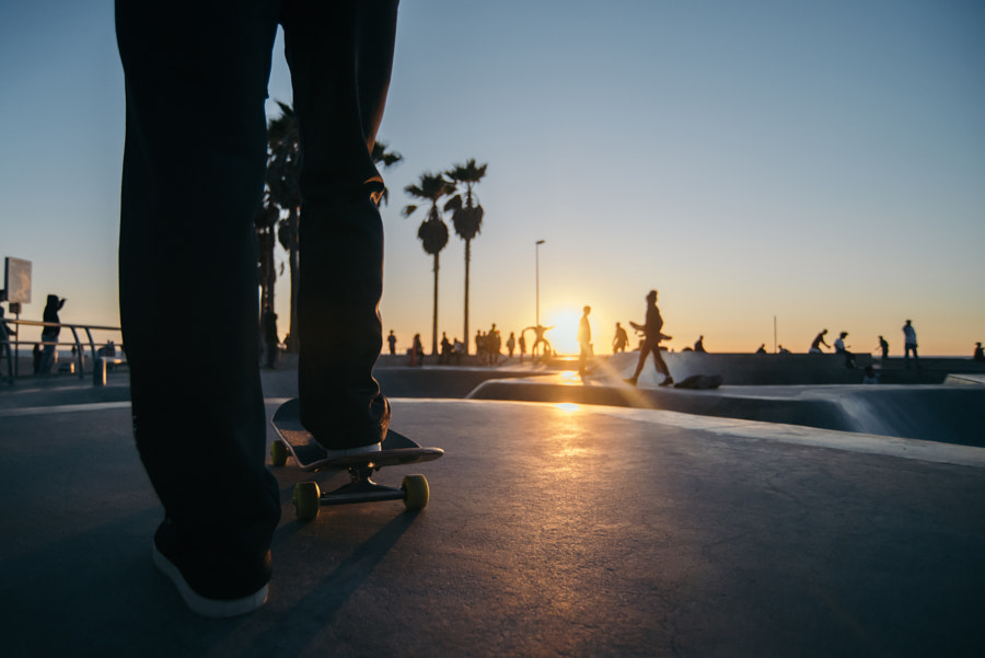 Venice beach sunset by Natta Summerky on 500px.com