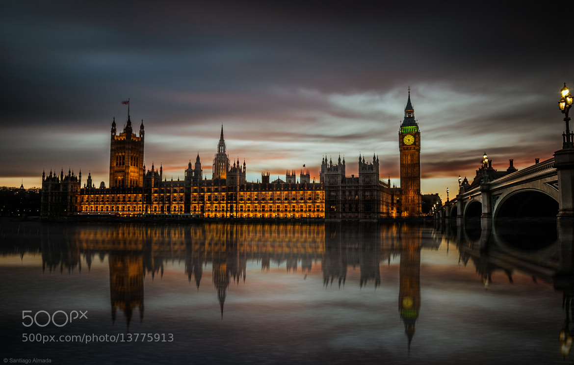 Photograph Mirrored in Thames by Santiago Almada on 500px