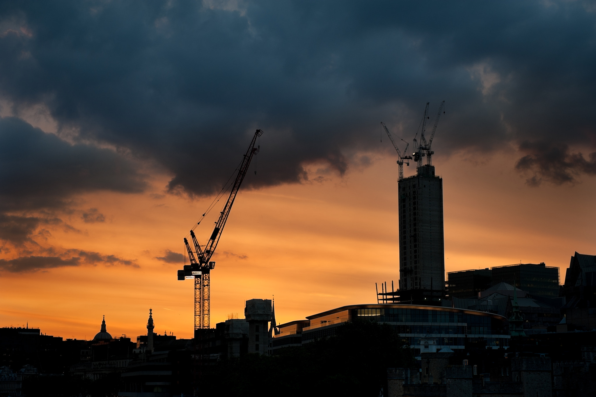 Photograph London Cranes by Hubert Mical on 500px